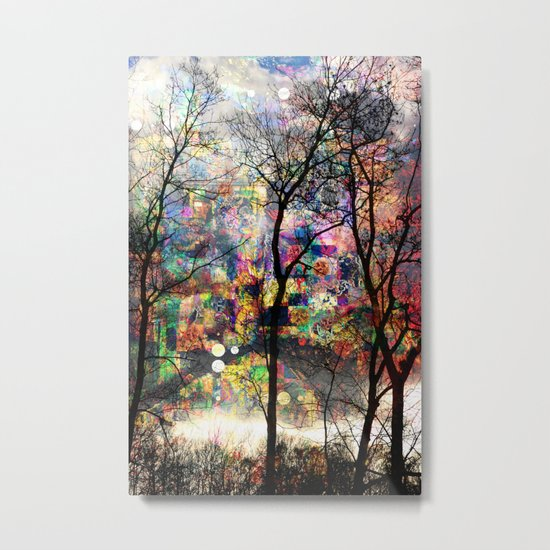 Crazy Nature Metal Print