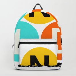 Tell the world to say NO to the IDC! Backpack
