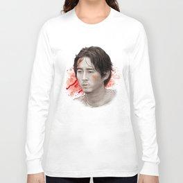 Glenn Rhee (The Walking Dead) Long Sleeve T-shirt