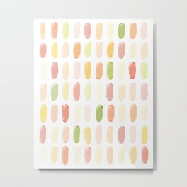 Popsicle Abstract Metal Print