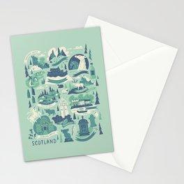 Travels Through Scotland Stationery Cards