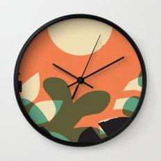 Jungle Sun #2 Wall Clock