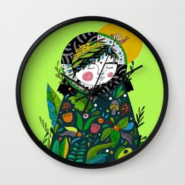 Invincible summer Wall Clock