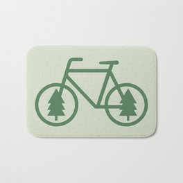 Pacific Northwest Cycling - Bike, Bicycle, Portland, PDX, Seattle, Washington, Oregon, Portlandia Bath Mat