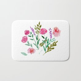 Country Bouquet Bath Mat