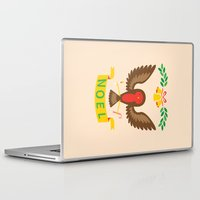 robin Laptop & iPad Skins featuring Robin by Wharton