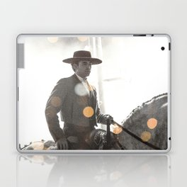 Bokeh rider Laptop & iPad Skin