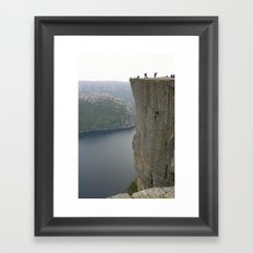 Preikestolen, Norway Framed Art Print