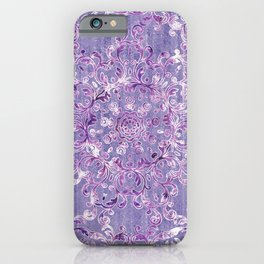 A Taste of Lilac Wine iPhone Case