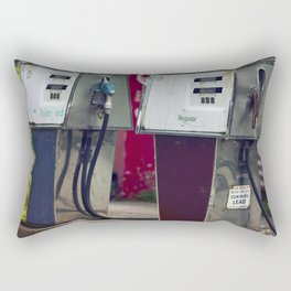 Service Stations of the Past Rectangular Pillow
