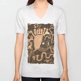 Six Toes or Seven? Unisex V-Neck