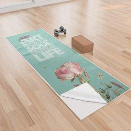 Peony Prayer Yoga Towel