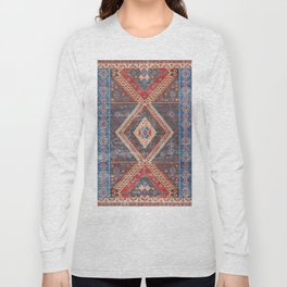 (N16) Boho Moroccan Oriental Artwork for Rustic and Farmhouse Styles. Long Sleeve T-shirt