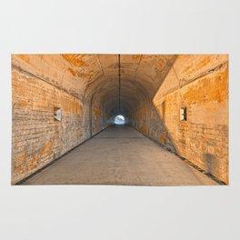 California War Tunnel Rug