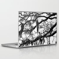 spanish Laptop & iPad Skins featuring Spanish Moss by MorganLoriPhoto