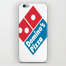 Dominos Pizza Logo iPhone Skin
