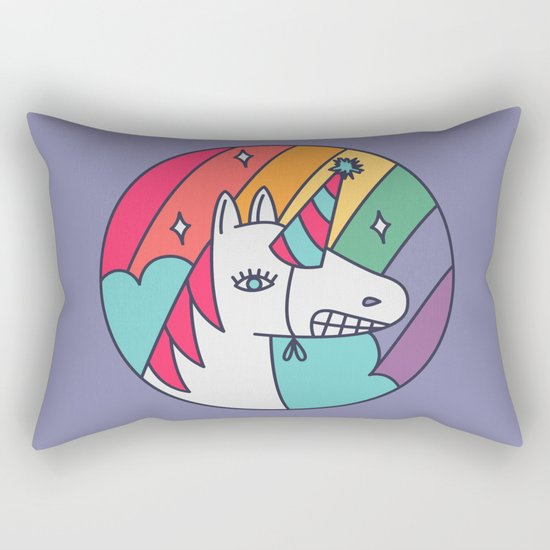 I Wish I Were a Unicorn Rectangular Pillow