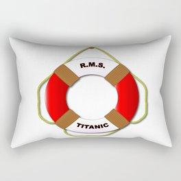RMS Lifebelt Rectangular Pillow