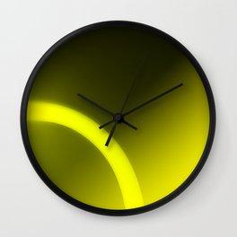 Gold Light Wall Clock