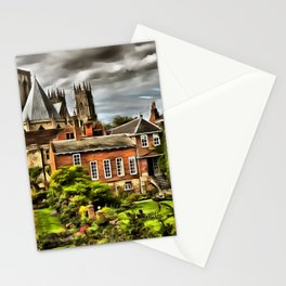 York (Painting) Stationery Cards