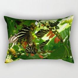 Butterfly Convention. Rectangular Pillow