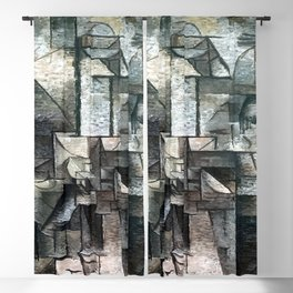 Pablo Picasso Woman with a Violin Blackout Curtain