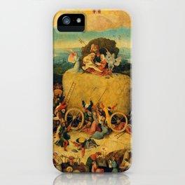 "Hieronymus Bosch ""The Haywain Triptych"" iPhone Case"