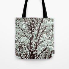 Winter Petals Tote Bag