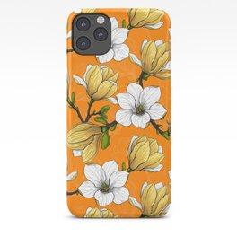 Magnolia garden in yellow    iPhone Case