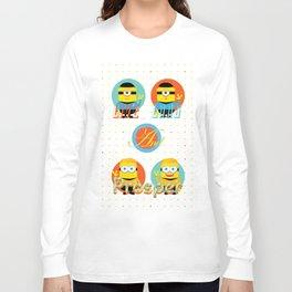 Minion!Star Trek Long Sleeve T-shirt
