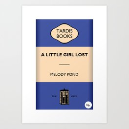 A Little Girls Lost Art Print
