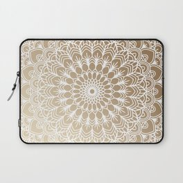 Gold Mandala 19 Laptop Sleeve