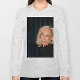 Blond Woman Long Sleeve T-shirt
