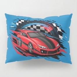 Race Car Pillow Sham