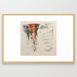 The beginning or the end.. Framed Art Print