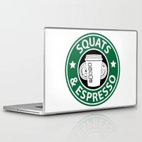 snatch Laptop & iPad Skins featuring Squats and Espresso Logo by Squats and Espresso