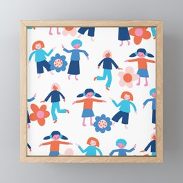Dancing In My Head Framed Mini Art Print
