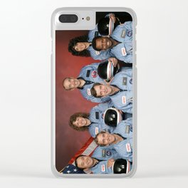 Space Shuttle Challenger Crew, November 1985 Clear iPhone Case