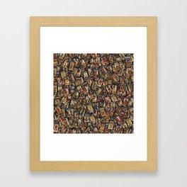 Tarot cards Framed Art Print
