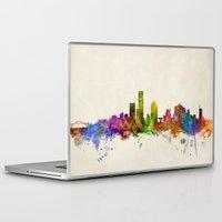 milwaukee Laptop & iPad Skins featuring Milwaukee Wisconsin Skyline Cityscape by artPause