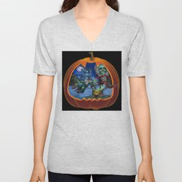 Witch's Magic Spell Unisex V-Neck