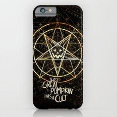 Cult of the Great Pumpkin: Pentagram iPhone 6s Slim Case