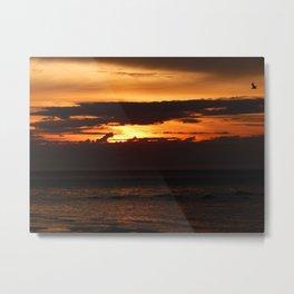 Sunset Shadows Metal Print