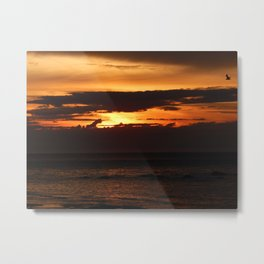Sunset Shadows Metal Print