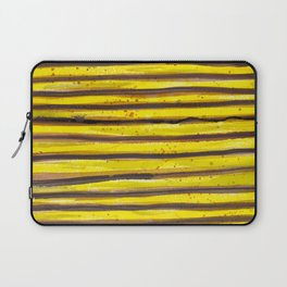 BUMBLE BEE SWIRL Laptop Sleeve