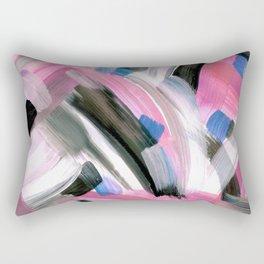 Crossing Pink Rectangular Pillow