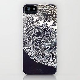 Ancient figures iPhone Case