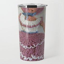 Lady with Parasol Travel Mug