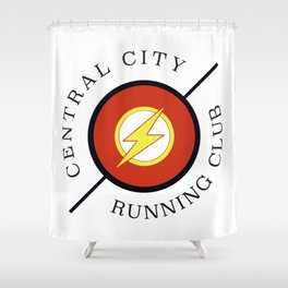Central City running club Shower Curtain