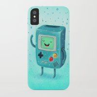 game iPhone & iPod Cases featuring Game Beemo by Lime
